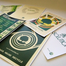 One Earth Recycling Posters