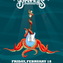 The Barnacles Octopus Poster