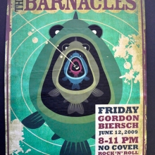 The Barnacles Fishing Poster
