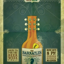 The Barnacles Beer Week Poster