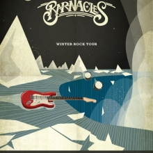 The Barnacles Waterfall Poster
