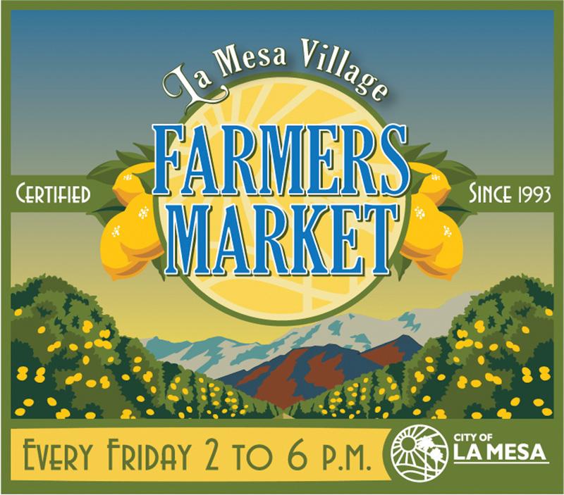 La Mesa Farmers Market Logo
