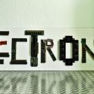 Handmade Electronics Sign