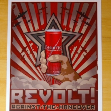 Resurrect Revolt Against The Hangover Poster