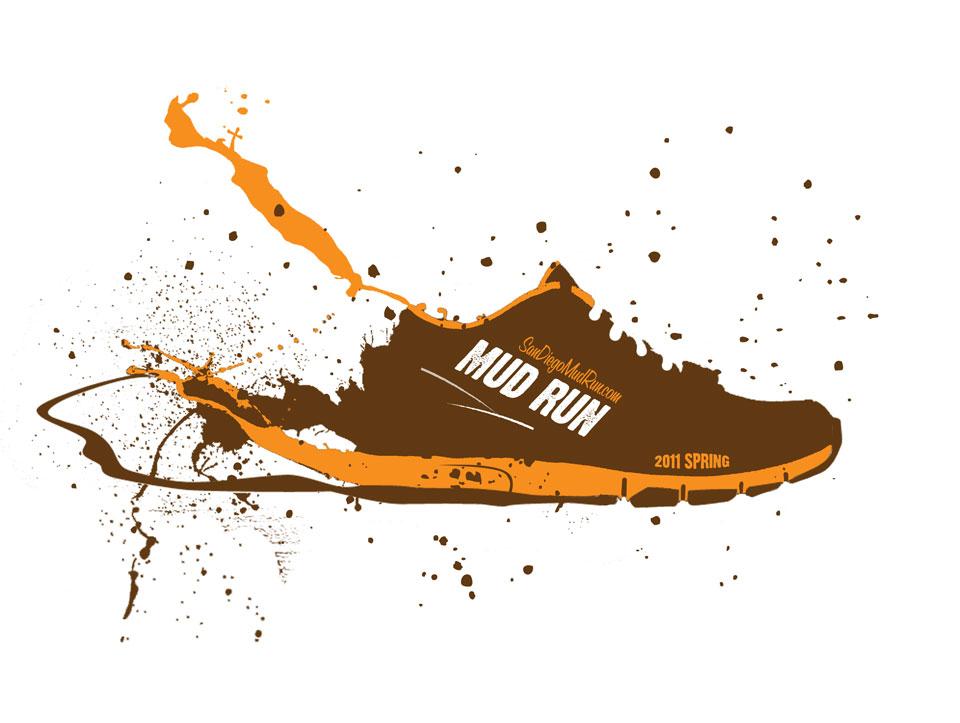 Mud Run Shirt Designs | San Diego Mud Run Spork