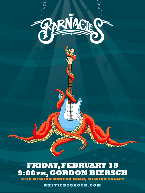The Barnacles Band Poster