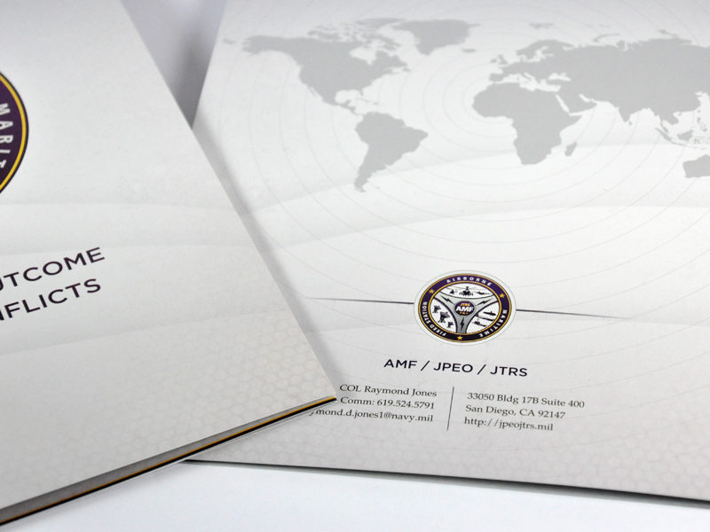 Collateral Brochure Close-up