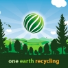 One Earth Recycling Large Scale Banner