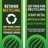 One Earth Recycling Flag Banners