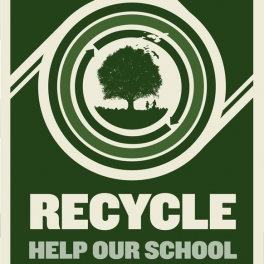 San Diego Recycling Poster