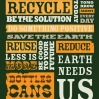 San Diego Recycling Donation Poster