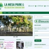 La Mesa Parks and Recreation Website