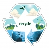 San Diego Recycling Decal