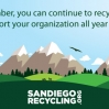 San Diego Recycling Thank You Card