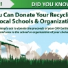 San Diego Recycling Thank You Flyer