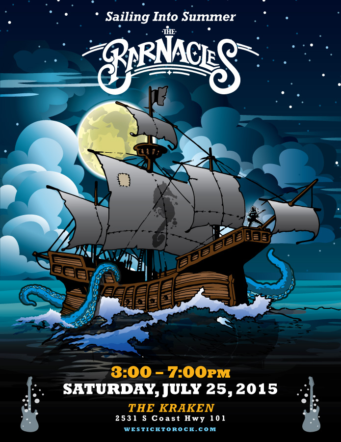 The Barnacles Ship Poster