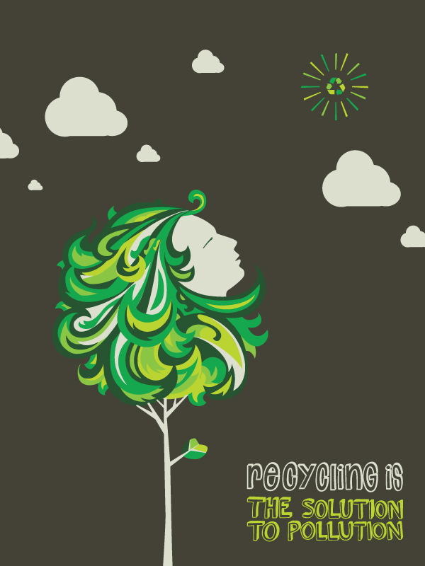 One Earth RecyclingPoster 1