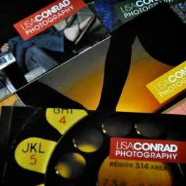 LC Photography Business Card System