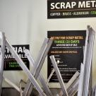 Scrap Metal Signage