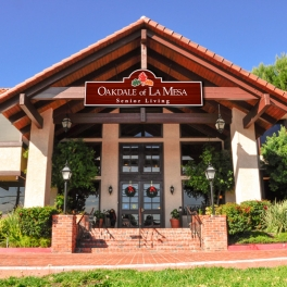 Oakdale Senior Living Entry Sign