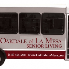 Oakdale Senior Living Shuttle Side