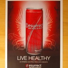 Resurrect Poster