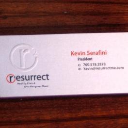 Resurrect Business Card
