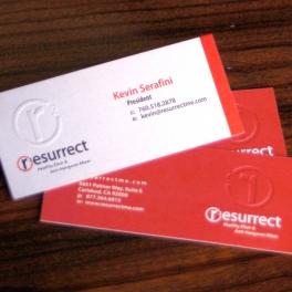 Resurrect Business Cards