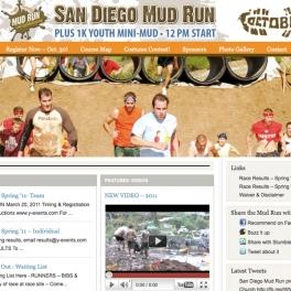 San Diego Mud Run Website