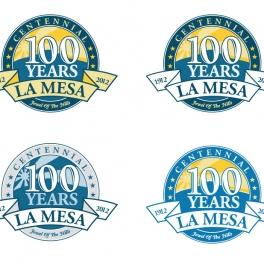 La Mesa Centennial Logo
