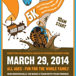 Macon Mud Run Poster & Flyer