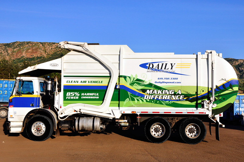 Daily Disposal Truck Wrap