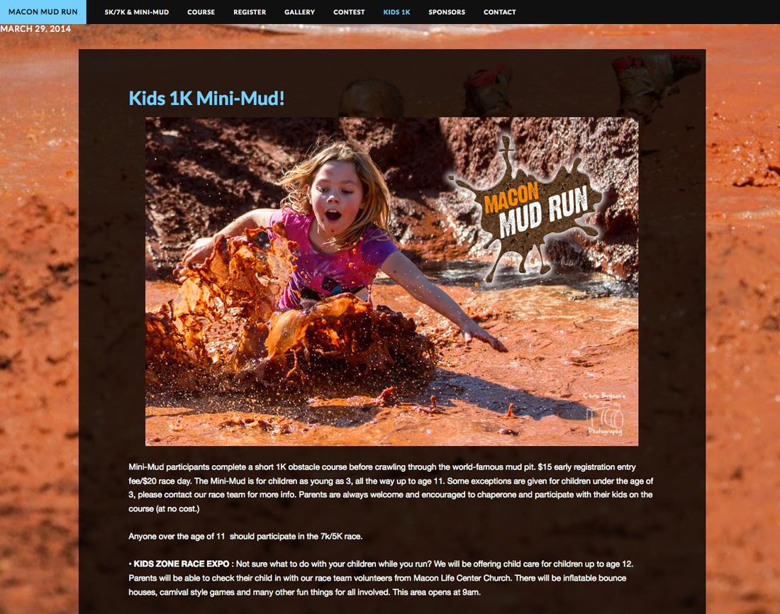 Macon Mudrun Website