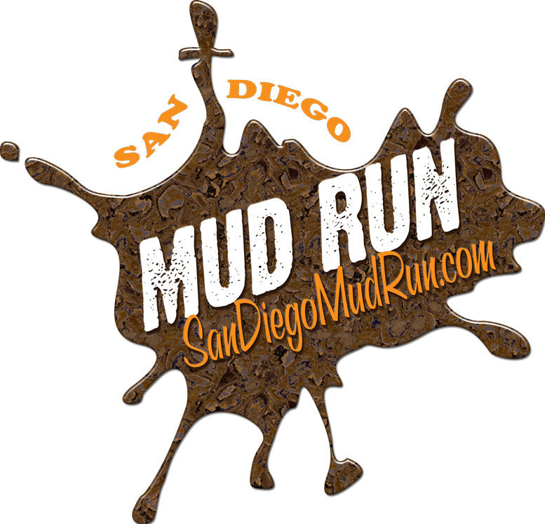 San Diego Mud Run Logo