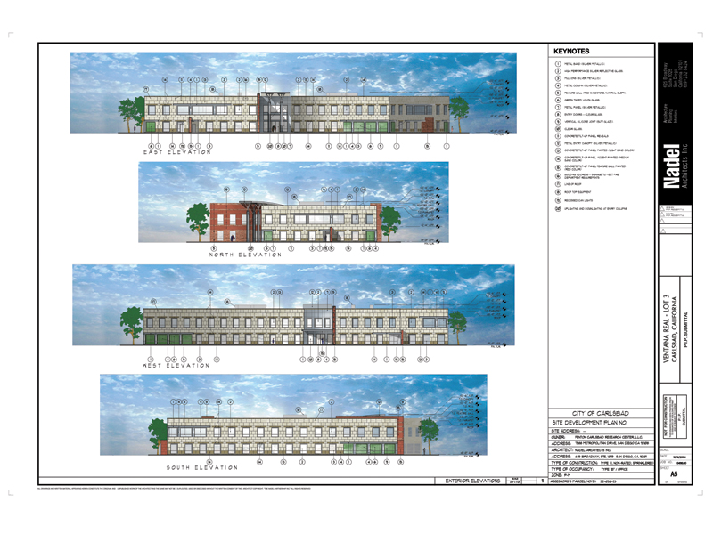Ventana Elevation Rendering