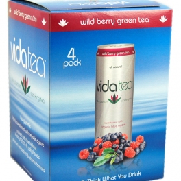 Vidatea 4-Pack Packaging - Wild Berry