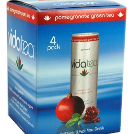 Vidatea 4-Pack Packaging - Pomegranate