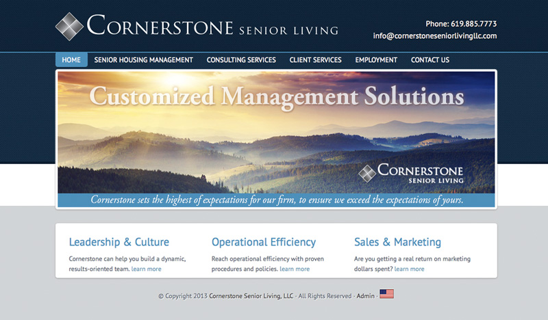 Cornerstone-Website