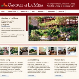 Oakdale-Website