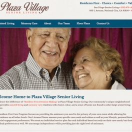 Plaza-Village-Website